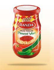 Sauce tomate: Piment Vert