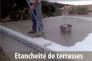 Applications pour le bâtiment: étanchéité de terrasses