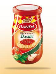 Sauce tomate: Basilic