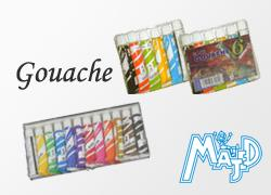 Aquarelle et Gouache Majed