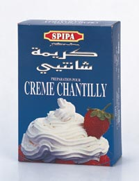 Cr�me Chantilly SPIPA