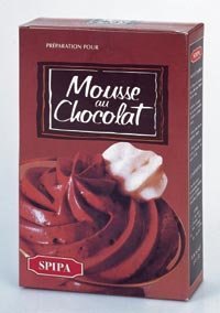 Mousse au chocolat SPIPA