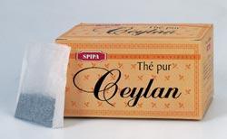 Thé noir de Ceylan infusion
