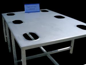 Tables en Inox