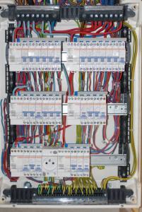 Tableau d'électricité