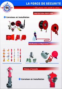 Robinet d'incendie armé: R.I.A EN TUNISIE