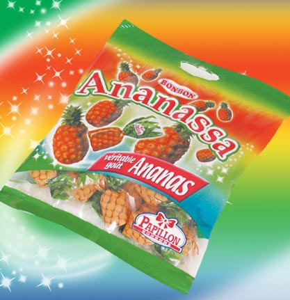 Bonbons Ananassa