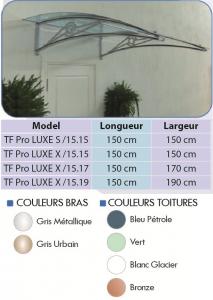 Auvent PRO-LUX   S / X