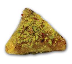 Pâtisserie tunisienne : Samsa Pistache