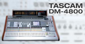 Lecteur - Enregistreur Console de mixage numérique TASCAM