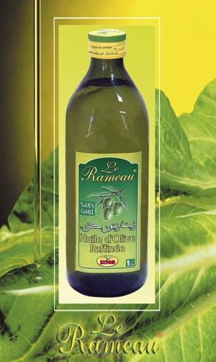 Huiles d'olive raffiné Le Rameau