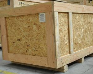 Caisse palox en bois traitée