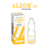 M�dicaments ophtalmiques: Collyre ALZOR 2 %