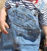 Vêtements en Jeans: Salopette Enfants