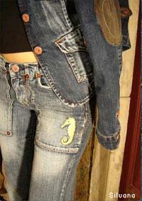 Pantalon en jeans pour femmes: Silvana