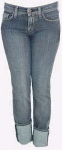 Pantalon en jeans pour femmes: Cigarette