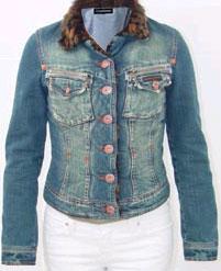 Blousons en jeans pour femmes: Souraya