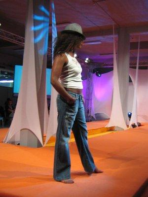 Pantalons en jeans pour femmes