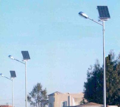 Eclairage publique solaire