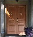 Porte blindée de Dierre