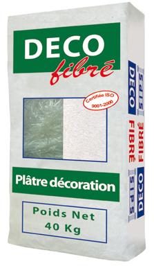 Plâtre fibré