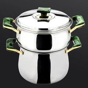 Couscoussier bomb� Top cook vert