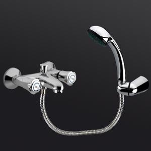Robinetterie : Mélangeur bain douche Hadrumète