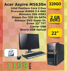 Ordinateur ASPIRE M5630