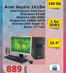 Ordinateur ASPIRE M1610