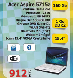 Pc portable ASPIRE 5715Z