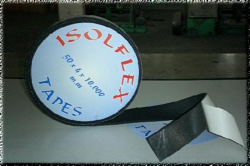 Isolation thermique pour bâtiments: bandes isolantes ISOLFLEX