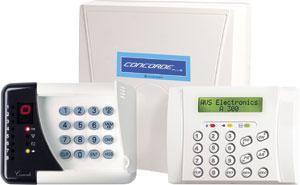 Centrale d'alarme intrusion