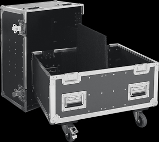 Mat�riels de sonorisation:HK audio concert sound  flight case pour 2 cta208
