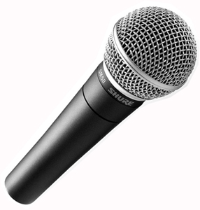 Micro A Chant SHURE SM 58