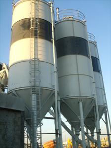 Système de pesage silos