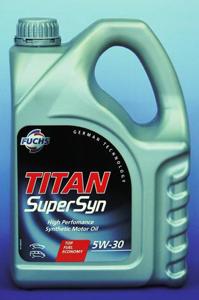 Huile et lubrifiants pour véhicule: TITAN SUPERSYN 5W30