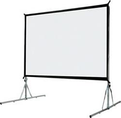 Location �cran de projection g�ant 4M/3M sur tr�pied alu avec double affichage