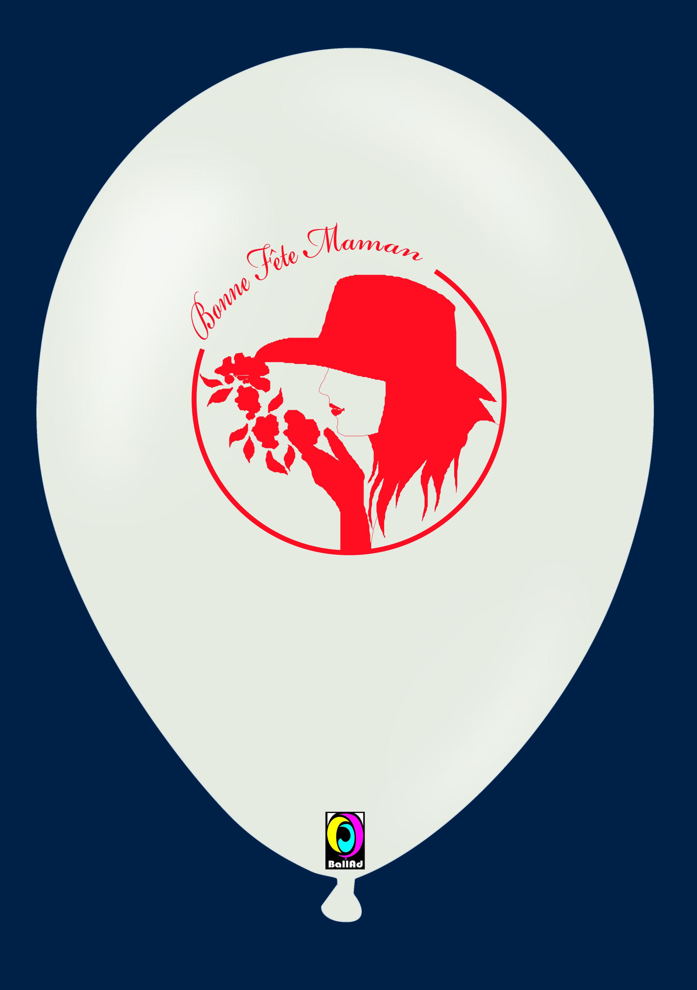 Ballon gonflable: FETE DES MERES