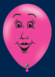 Ballon gonflable: FACE