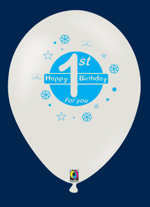 Ballon gonflable: BIRTHDAY