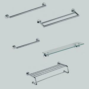 Porte savon porte verre simple et double porte papier en for Accessoires de salle de bain en tunisie