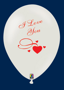 Ballon gonflable: SAINT VALENTIN