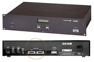 MCS central control unit n�:463388