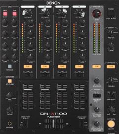Table de mixage matricielle � 4 canaux