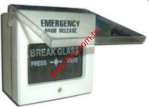 Bouton de sortie d'urgence