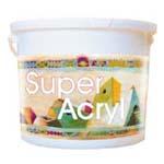 Peinture à l'eau: SUPER ACRYL