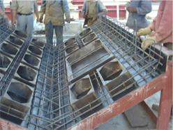 Coffrage métallique : moule pour façade