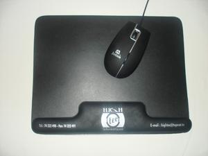 Tapis de souris de forme créé sur mesure