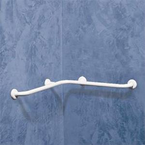 Barre d'appui d'angle en aluminium de marque Goman