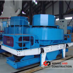 Concasseur centrifuge à choc vertical